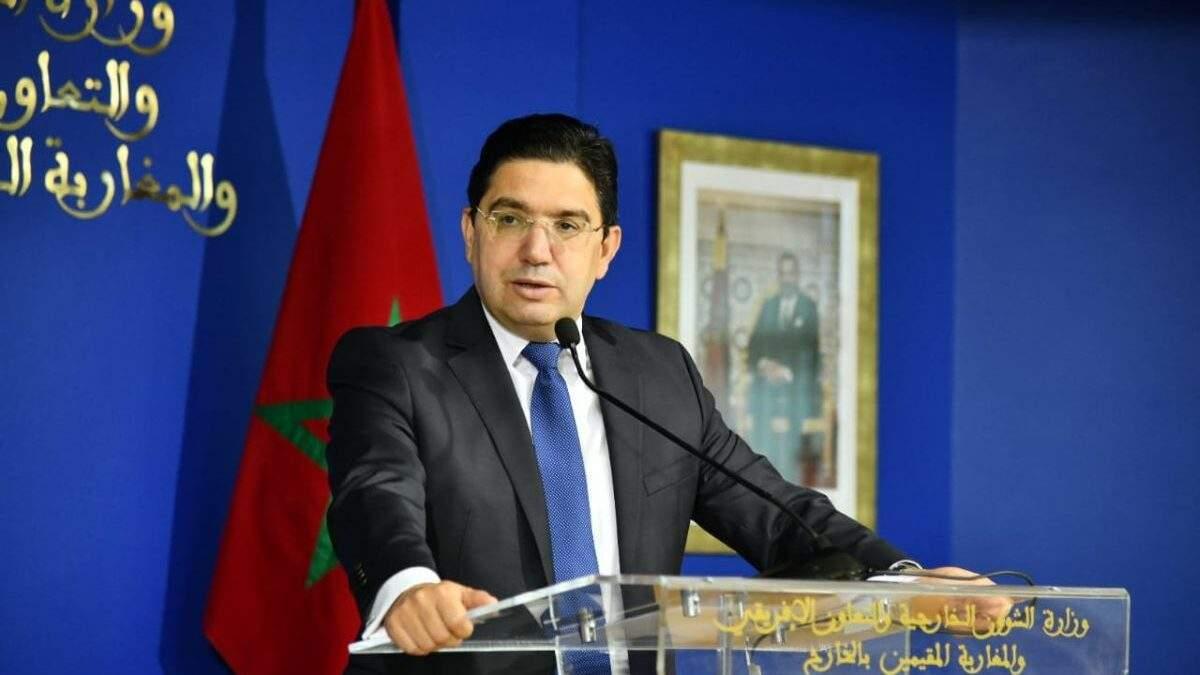 Nasser Bourita, ministre marocain des Affaires étrangères