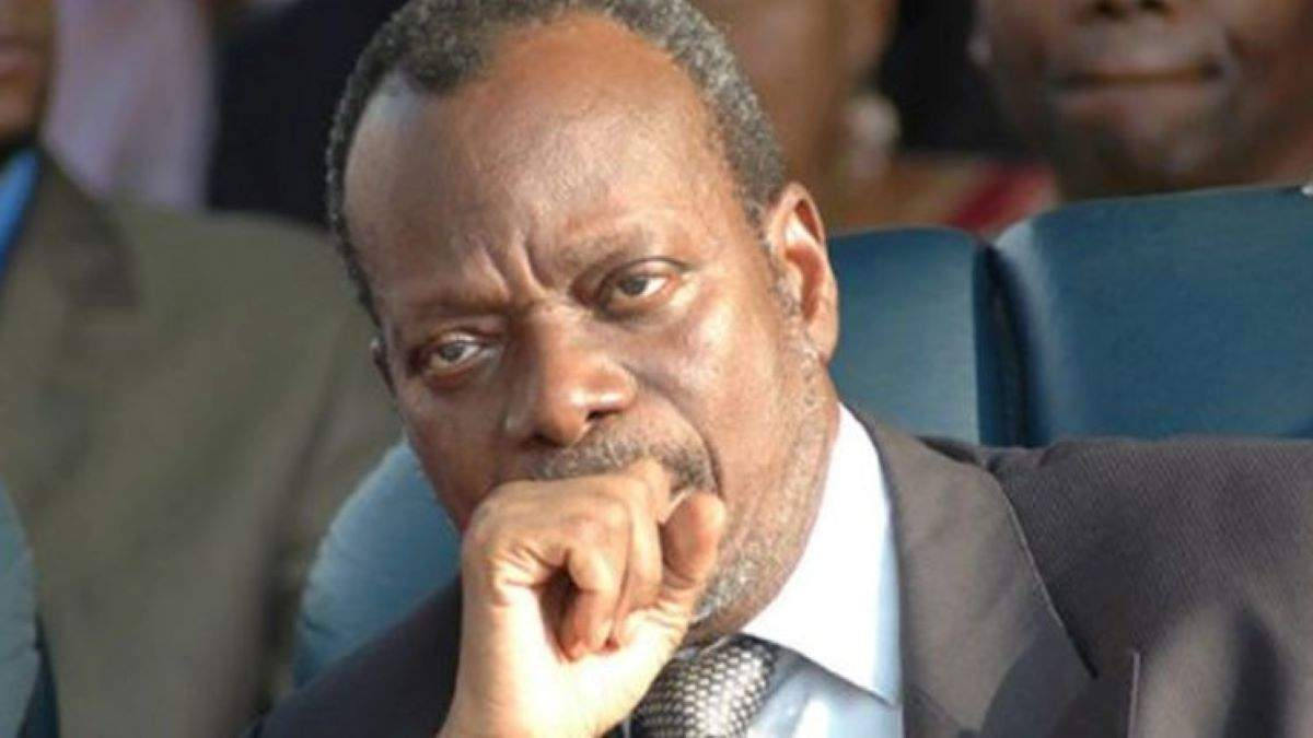 Robert Dossou, avocat, ancien président de la Cour constitutionnelle