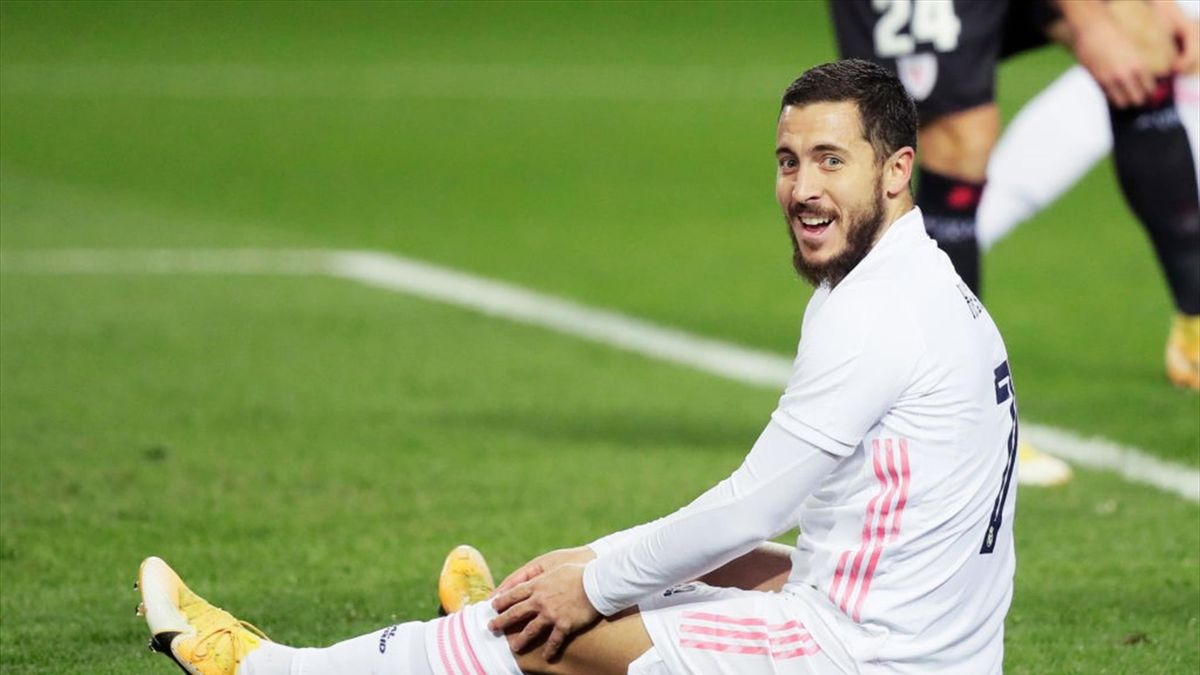 Real Madrid : Eden Hazard,