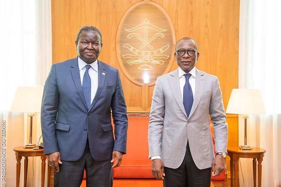 Abdoulaye Diop et Patrice Talon