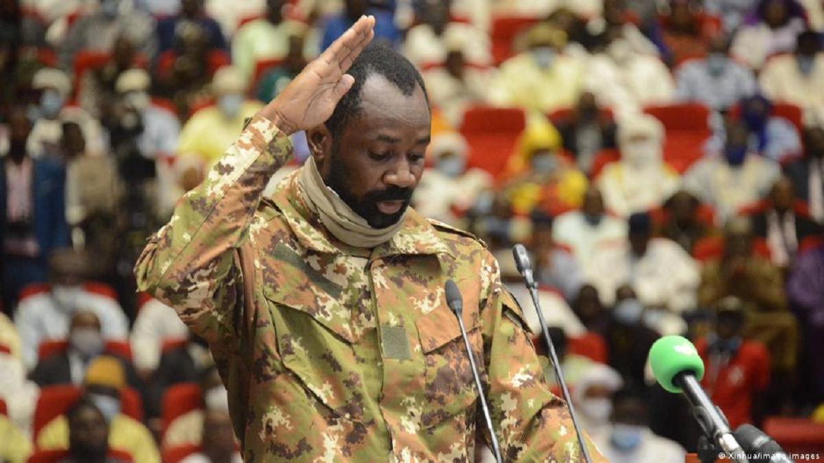 Le colonel Assimi Goita, nouveau président de la transition au Mali