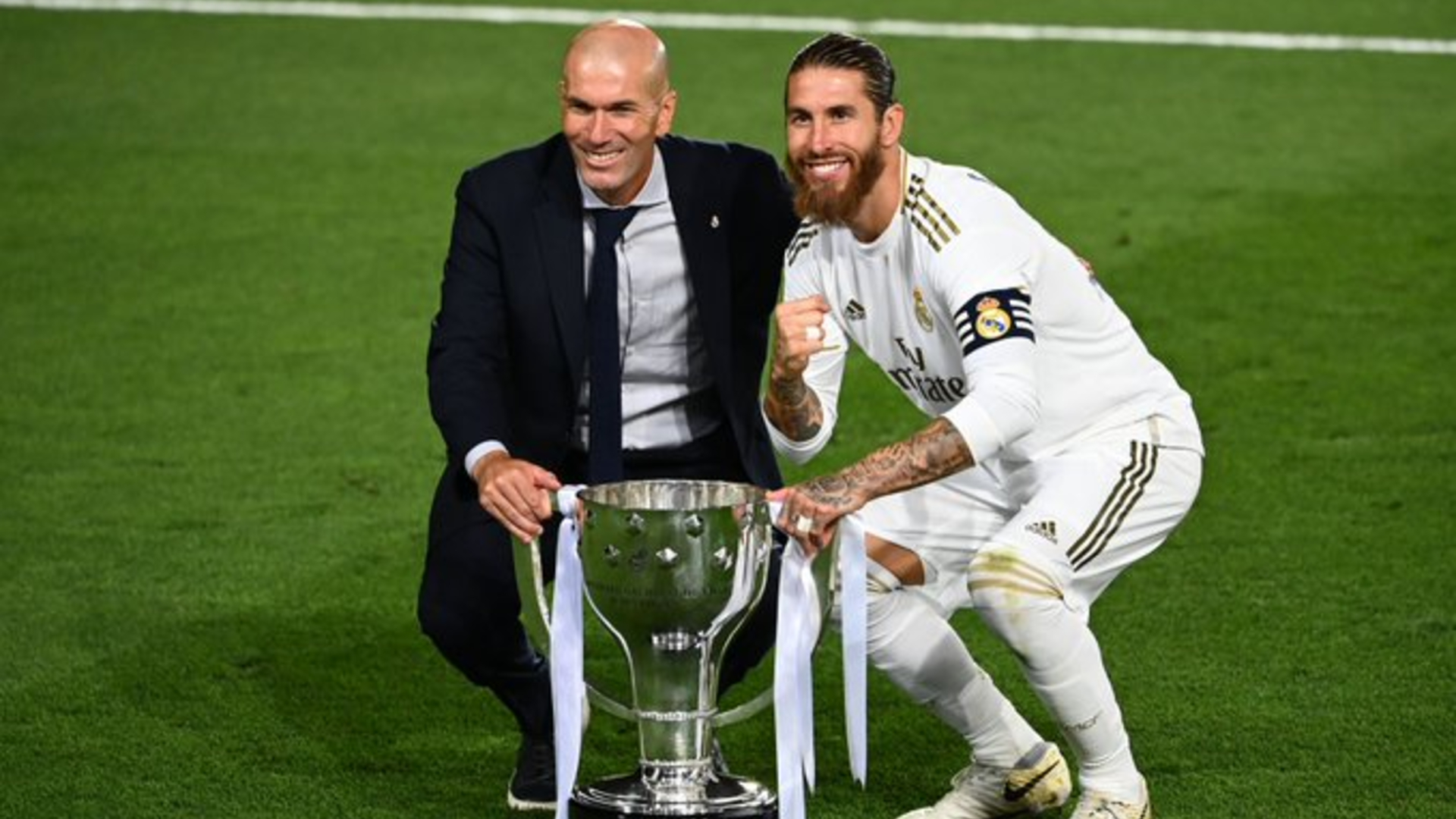 Sergio Ramos et Zidane