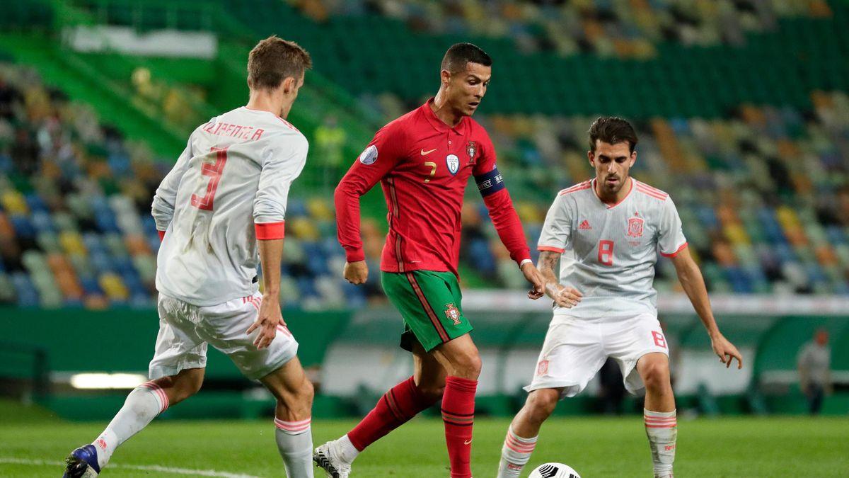 Les compos probables du choc Portugal Espagne en amical