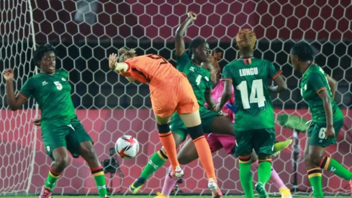 Tournoi féminin de football des JO de Tokyo 2020: Pays-Bas vs Zambie